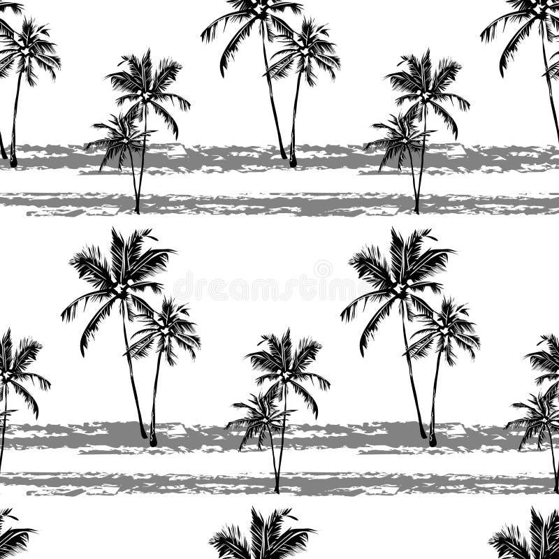 Teste padrão sem emenda havaiano ilustração stock