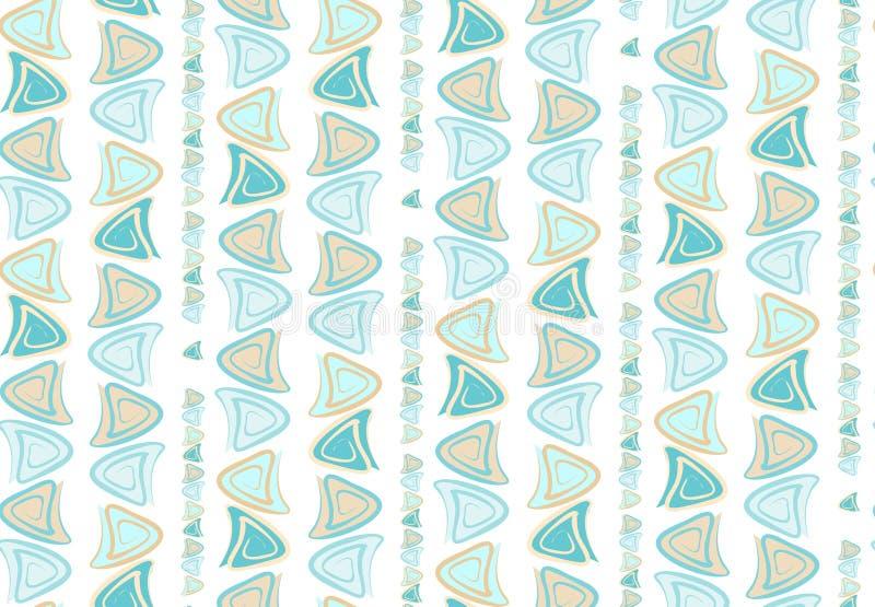 Teste padrão sem emenda manchado ondulado do sumário para a cópia da tela no papel ilustração royalty free