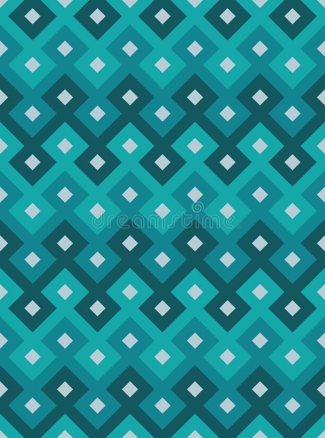 Teste padrão sem emenda oriental do vetor Teste padrão geométrico árabe ilustração stock