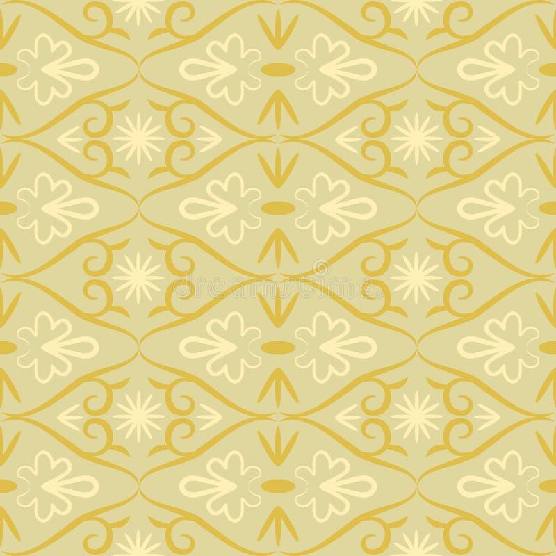 Teste padrão sem emenda retro da cor do redemoinho ilustração royalty free