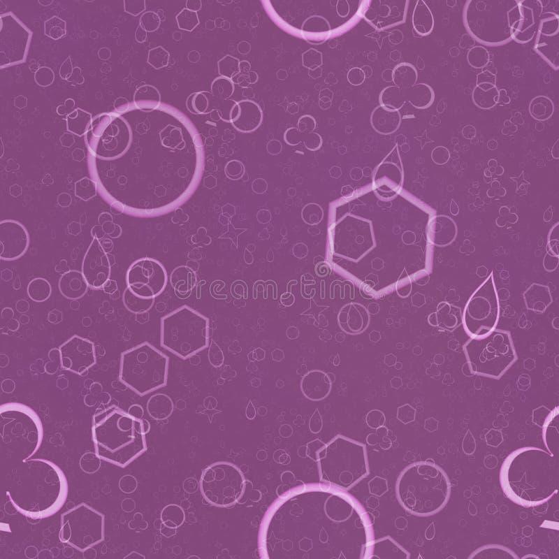 Teste padrão sem emenda roxo escuro da textura, o roxo e o cor-de-rosa ilustração do vetor