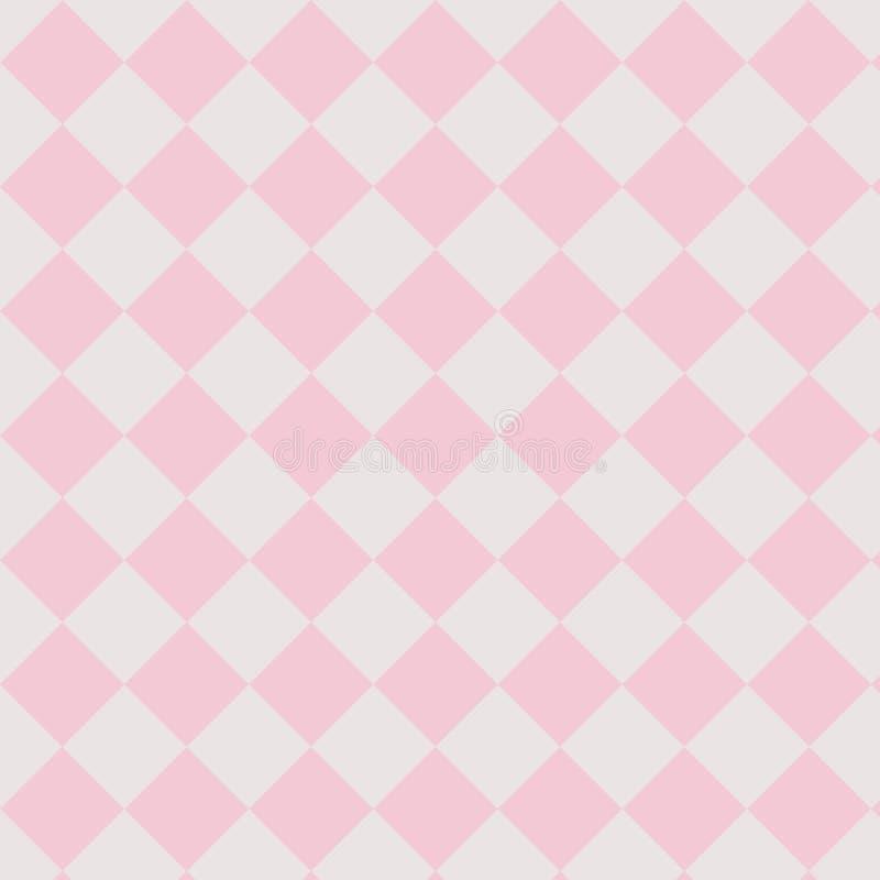Teste padrão sem emenda simples ilustração royalty free