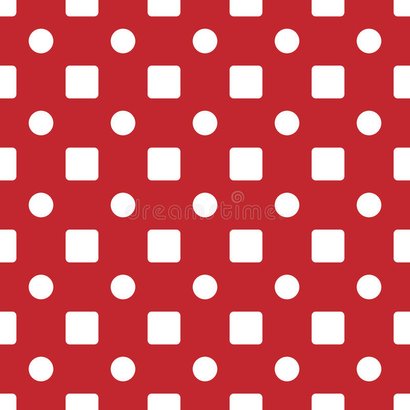 Teste padrão sem emenda simples geométrico Gráfico da forma Projeto do fundo Textura abstrata à moda moderna Molde para cópias, t ilustração royalty free