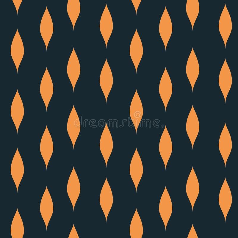 Teste padrão sem emenda vertical do fluxo natural ilustração royalty free