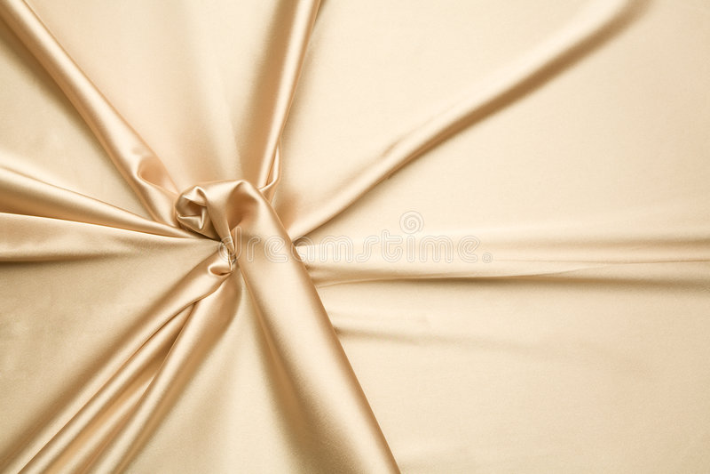 Teste padrão simples do cetim dourado imagem de stock royalty free