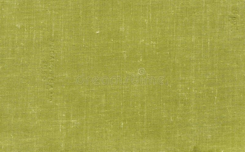 Teste padrão sujo velho da lona com o ponto sujo na cor amarela foto de stock royalty free