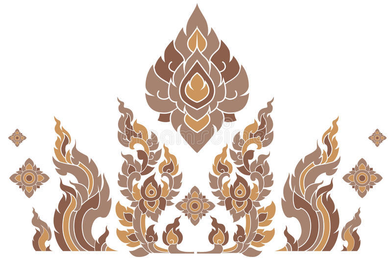 Teste padrão Tailândia ilustração royalty free