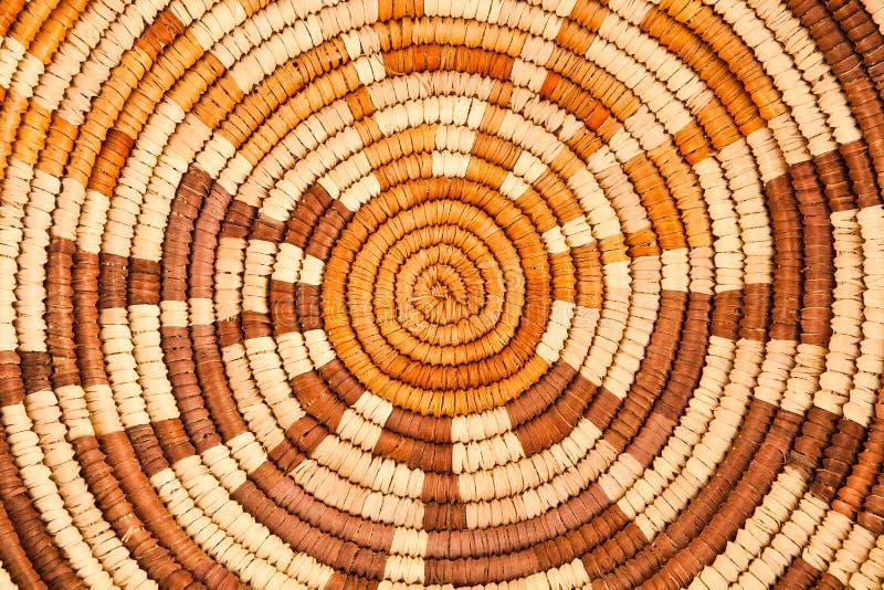 Teste padrão tecido nativo americano do fundo fotos de stock