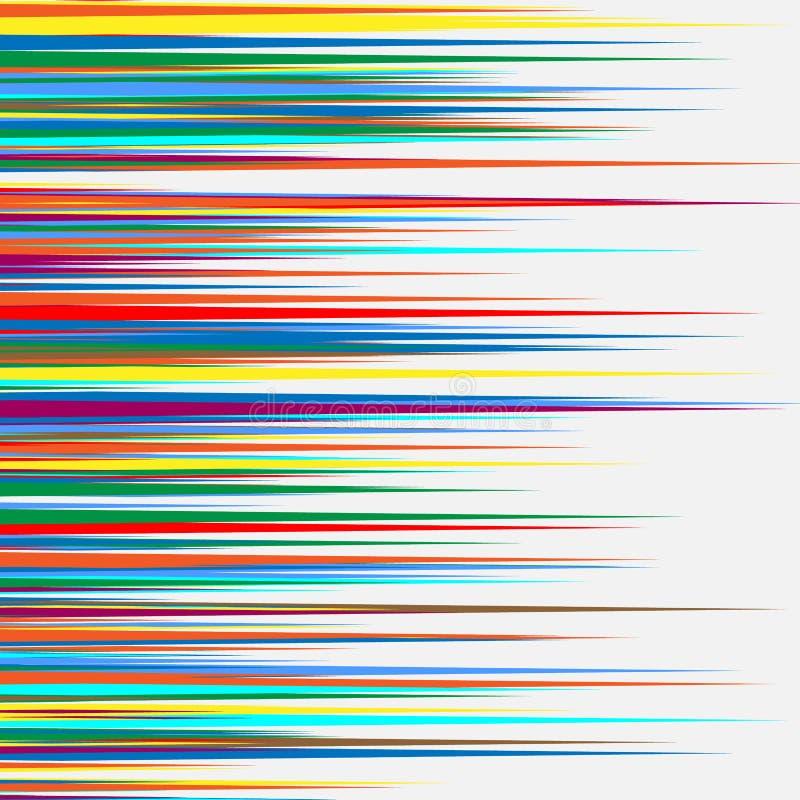 Teste padrão/textura geométricos coloridos aleatórios Illustratio sarapintado ilustração stock