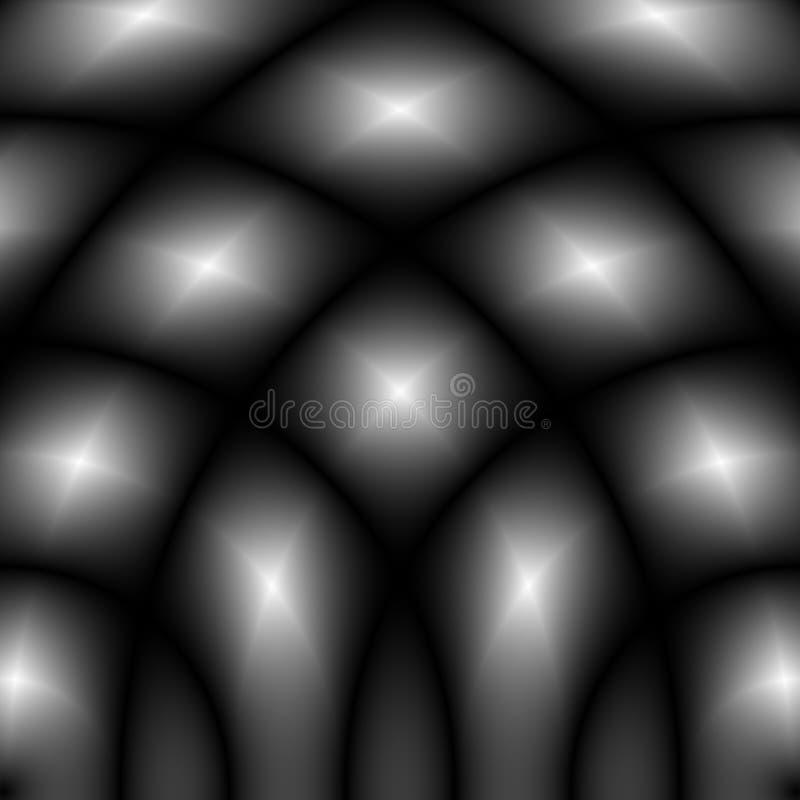 Teste padrão/textura monocromáticos desvanecidos Defocused Vagabundos abstratos da op-arte ilustração royalty free