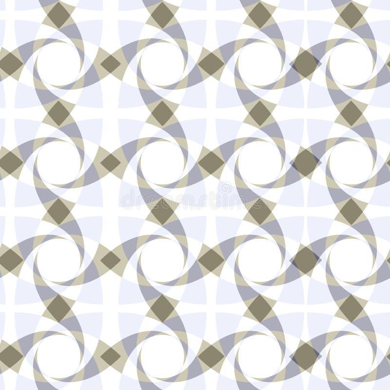 teste padrão transparente sem emenda geométrico ilustração do vetor