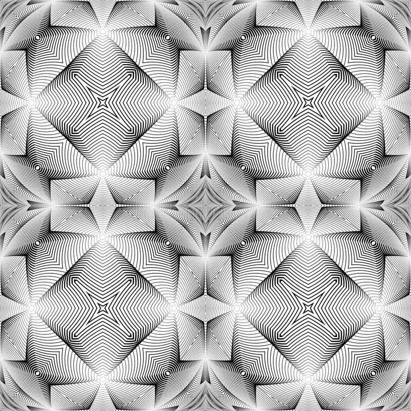 Teste padrão trellised decorativo sem emenda do projeto ilustração do vetor