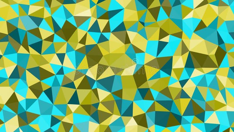 Teste padrão triangular do colorfull na moda do vetor do sumário Fundo poligonal moderno ilustração stock
