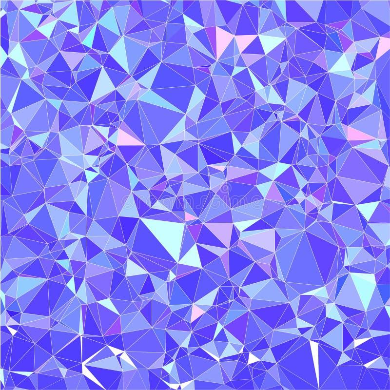 Teste padrão triangular do inclinação na moda do vetor do sumário Fundo poligonal moderno ilustração do vetor