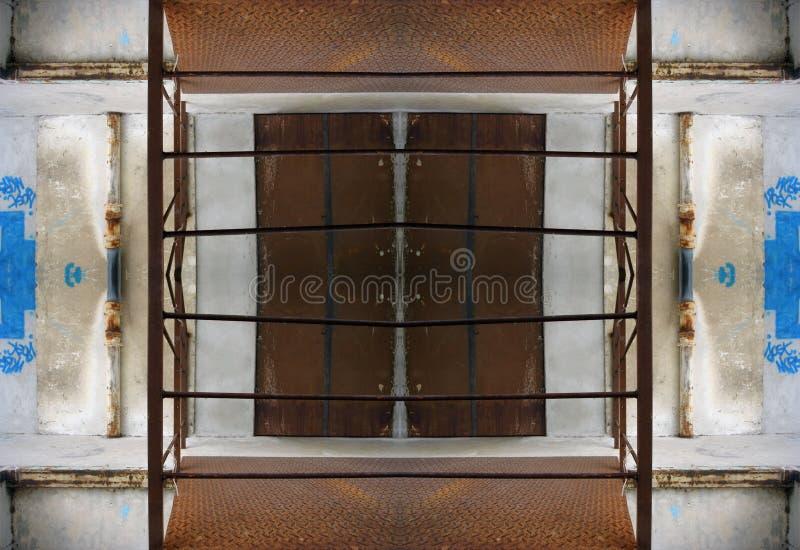 Download Teste Padrão Urbano De Marselha Ilustração Stock - Ilustração de áspero, oxidar: 541001