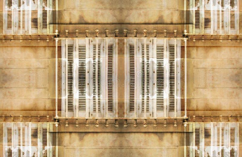 Download Teste Padrão Urbano De Marselha Ilustração Stock - Ilustração de janela, segurança: 541003