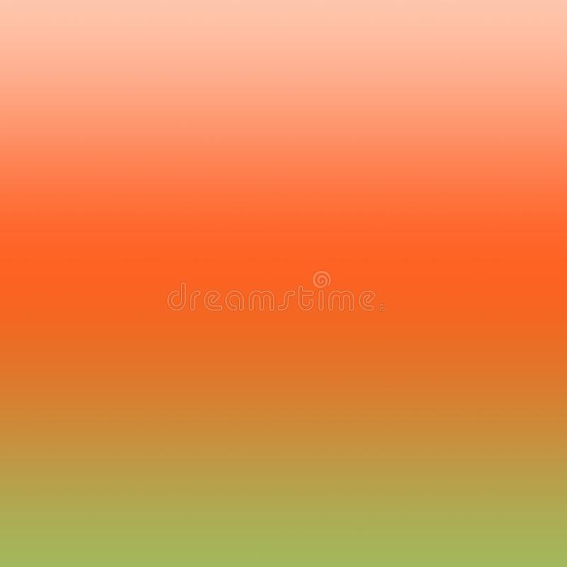 Teste padrão verde vermelho de Ombre do fundo alaranjado e verde do inclinação fotos de stock