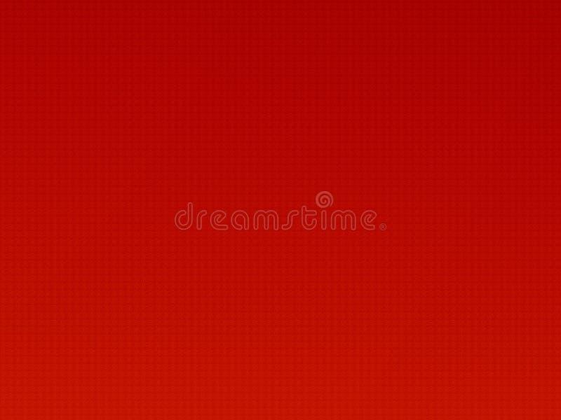 Teste padrão vermelho ilustração do vetor