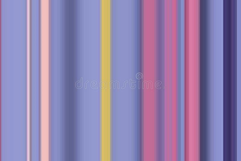 Teste padr?o colorido do fundo do projeto pastel listra limpa ilustração do vetor