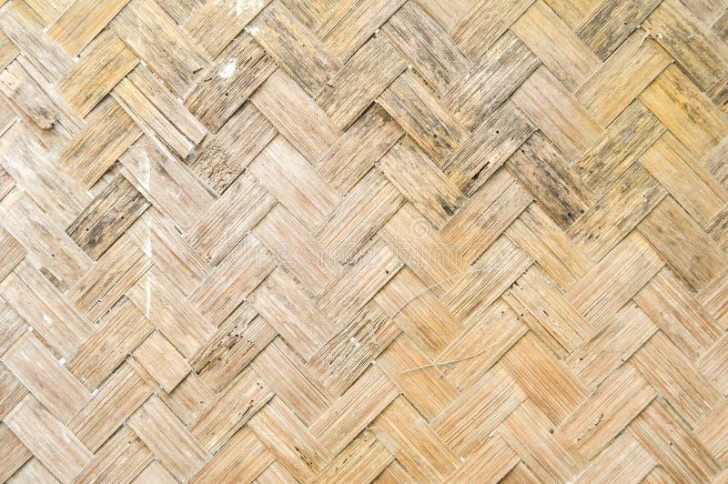 Teste padr?o de bambu tecido foto de stock