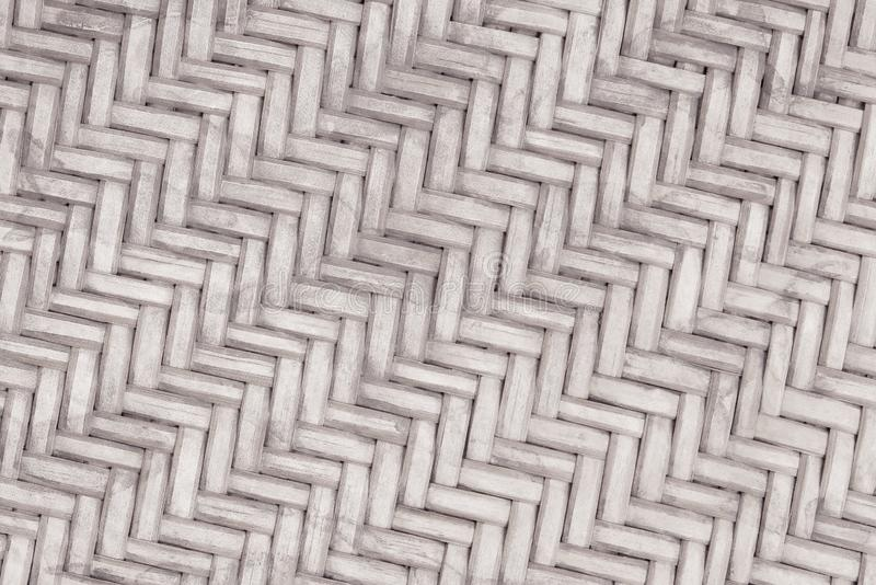 Teste padr?o de tecelagem de bambu velho, textura tecida da esteira do rattan para o fundo e trabalho de arte do projeto fotos de stock