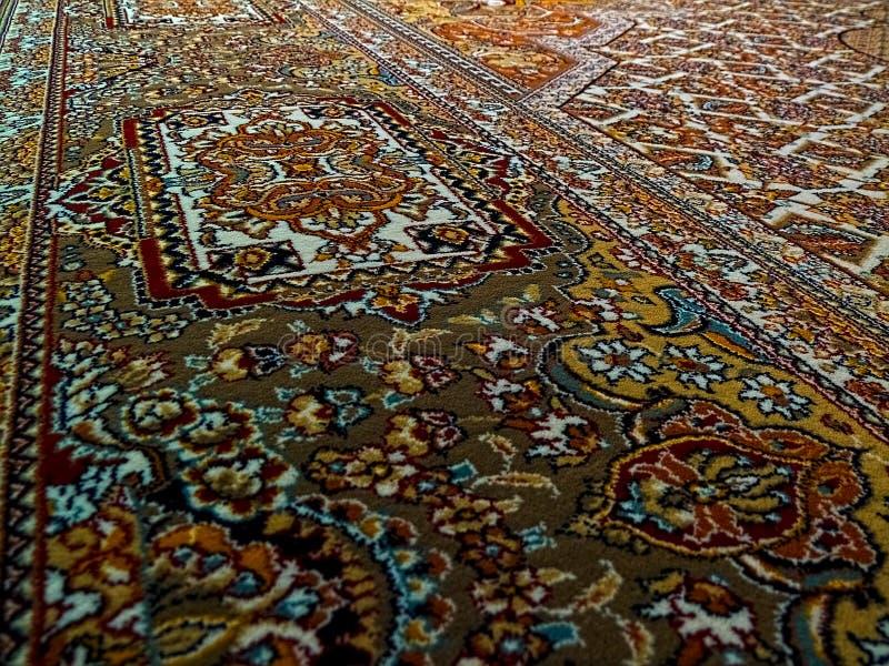 Teste padr?o do tapete persa de Royal Palace, tapete persa com um projeto intrincado fotos de stock royalty free