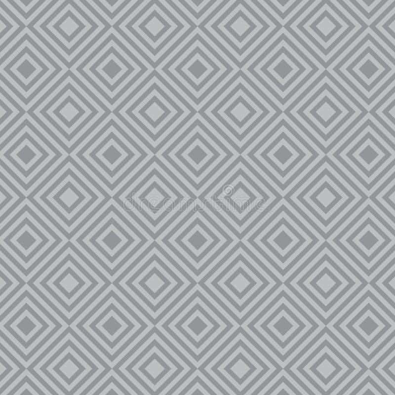 Teste padr?o geom?trico do vetor, repetindo a forma da forma, a corajosa e da listra do diamante da listra do diamante na forma q ilustração royalty free
