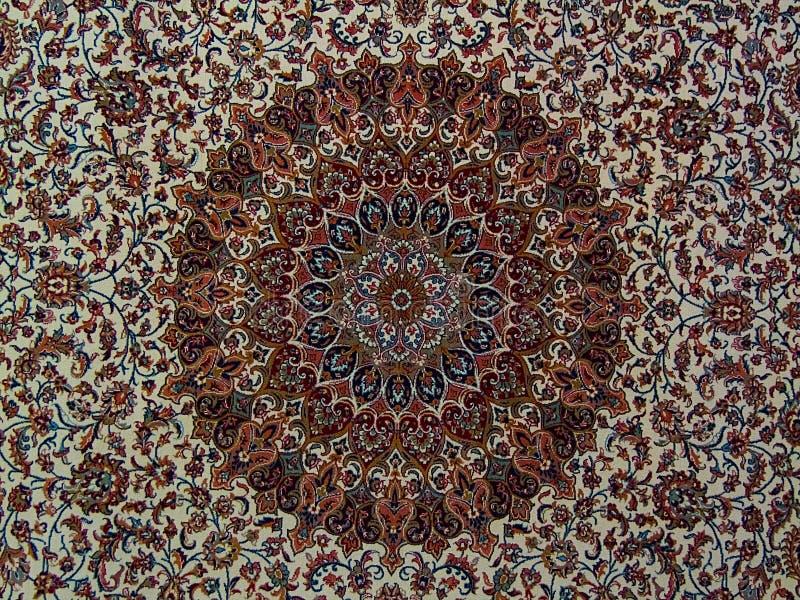 Teste padr?o persa do tapete de Royal Palace, tapete persa com um projeto intrincado imagem de stock royalty free