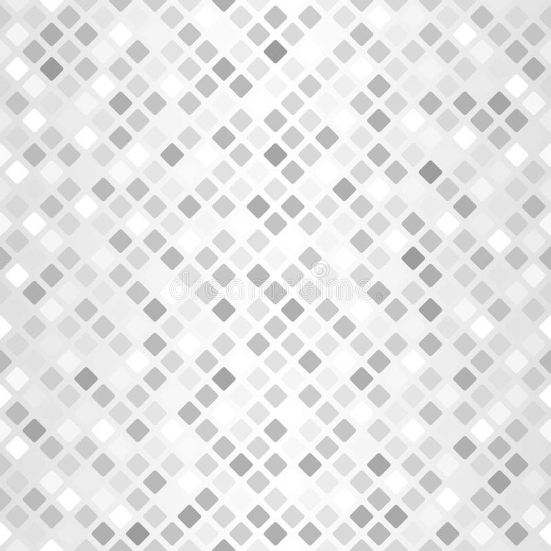 Teste padr?o quadrado arredondado de incandesc?ncia Vetor sem emenda ilustração royalty free
