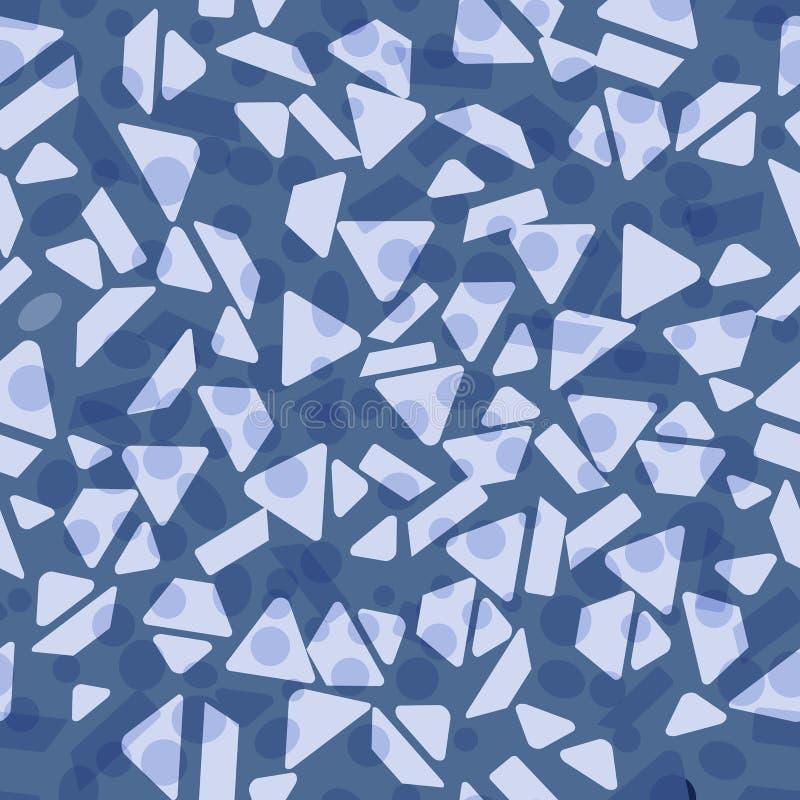 Teste padr?o sem emenda com figuras geom?tricas abstraia o fundo Molde para o projeto, tela, c?pia ilustração royalty free