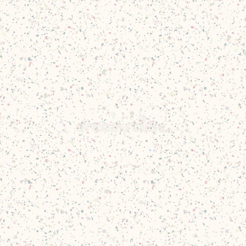 Teste padr?o sem emenda de m?rmore do terra?o Textura realística do vetor do assoalho de mosaico ilustração do vetor