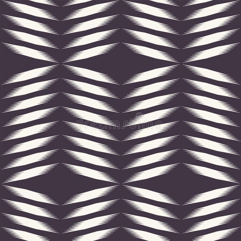 Teste padr?o sem emenda do vetor Mão geométrica moderna diamante tecido tirado Repetindo o fundo abstrato da viga do inclinação o ilustração stock
