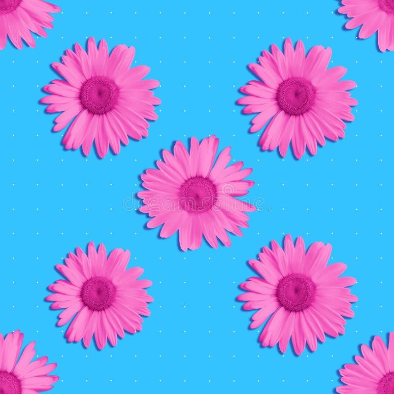 Teste padr?o sem emenda floral brilhante imagens de stock
