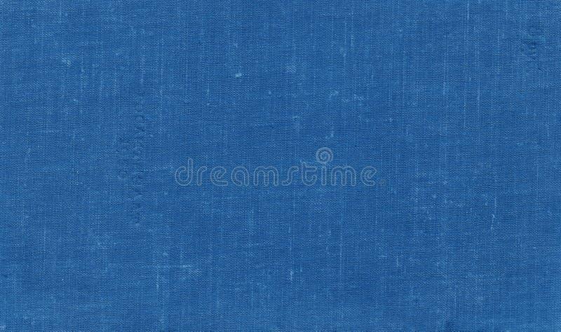 Teste padr?o sujo velho da lona com os pontos sujos na cor dos azuis marinhos foto de stock royalty free
