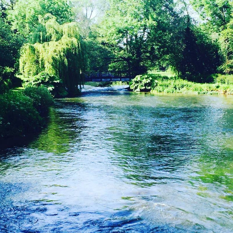 Teste Romsey do rio imagens de stock