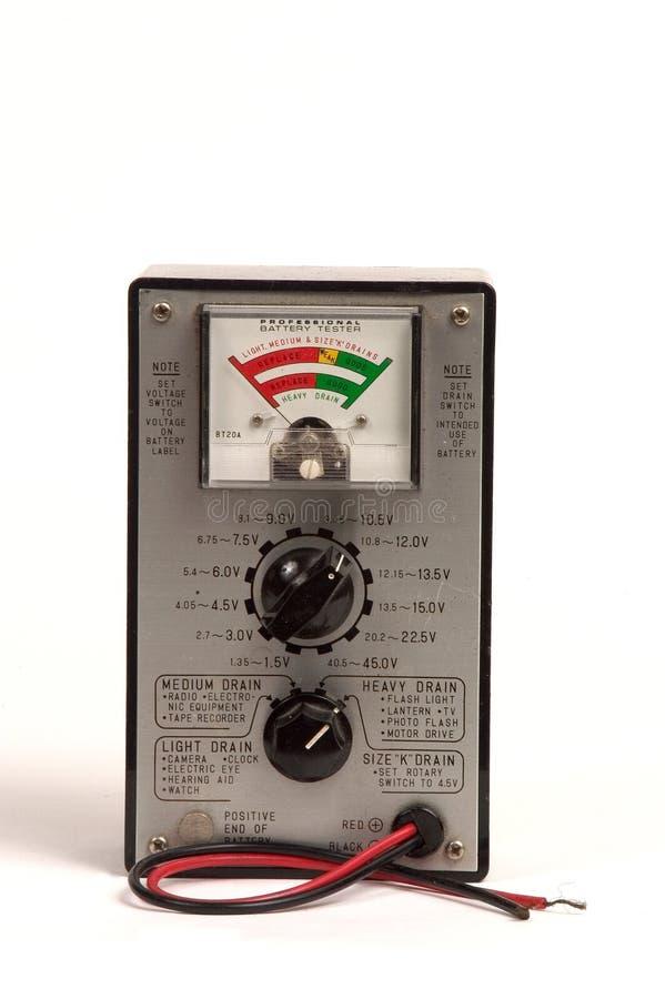 Tester Della Batteria Immagine Stock