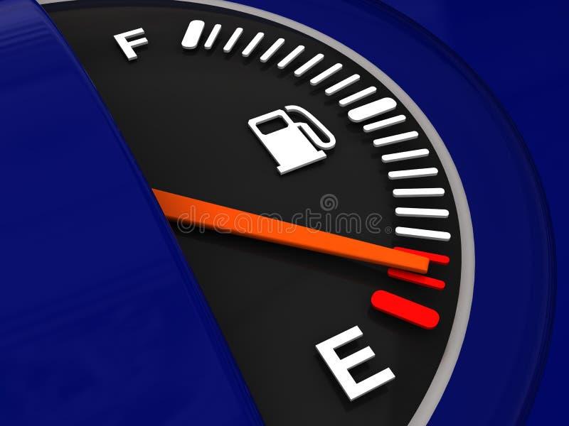 Tester di combustibile illustrazione vettoriale