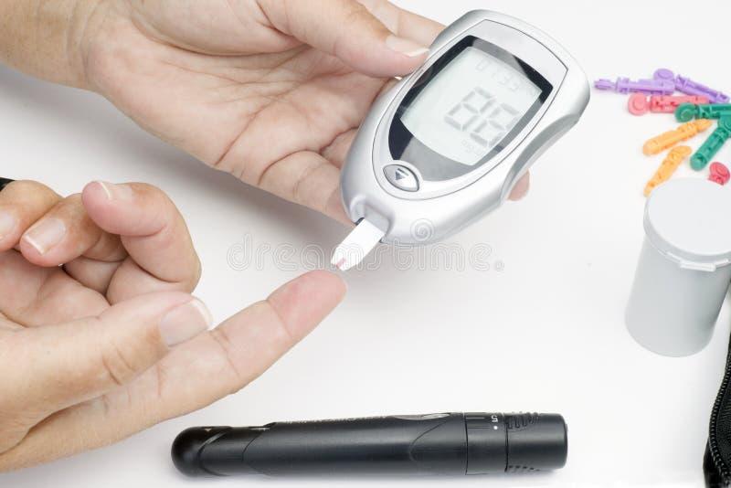 Testes do diabético imagem de stock royalty free