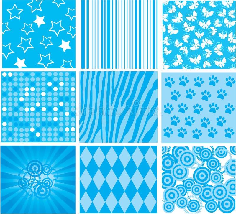 Testes padrões ilustração stock
