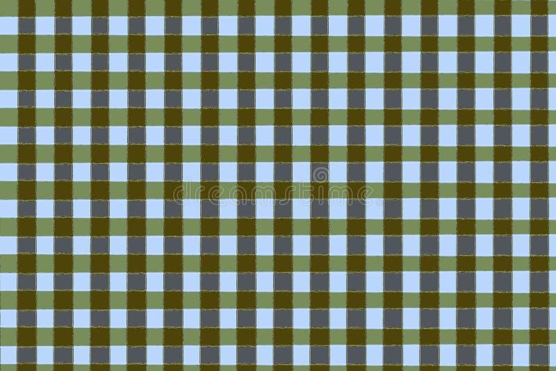 Testes padrões abstratos da cor na textura suja retro ilustração do vetor
