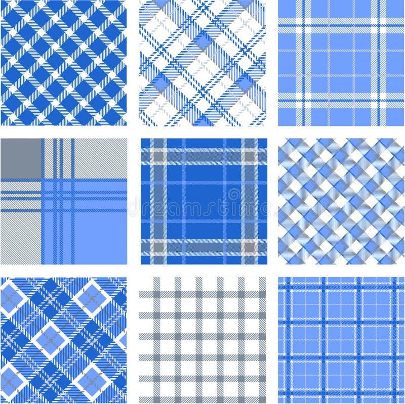 Testes padrões da manta ilustração do vetor