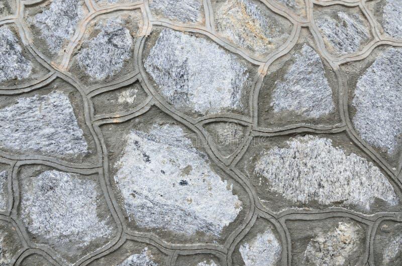 Testes padrões da parede de pedra imagem de stock royalty free