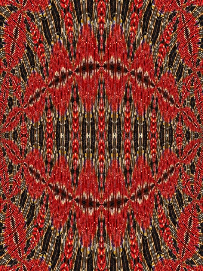 Testes padrões da tapeçaria ilustração do vetor