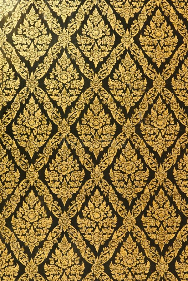 Testes padrões de Tailândia formados na placa imagens de stock