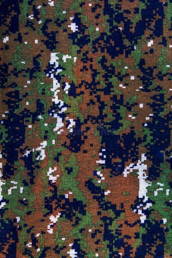Testes padrões e cores na tela Sumário foto de stock