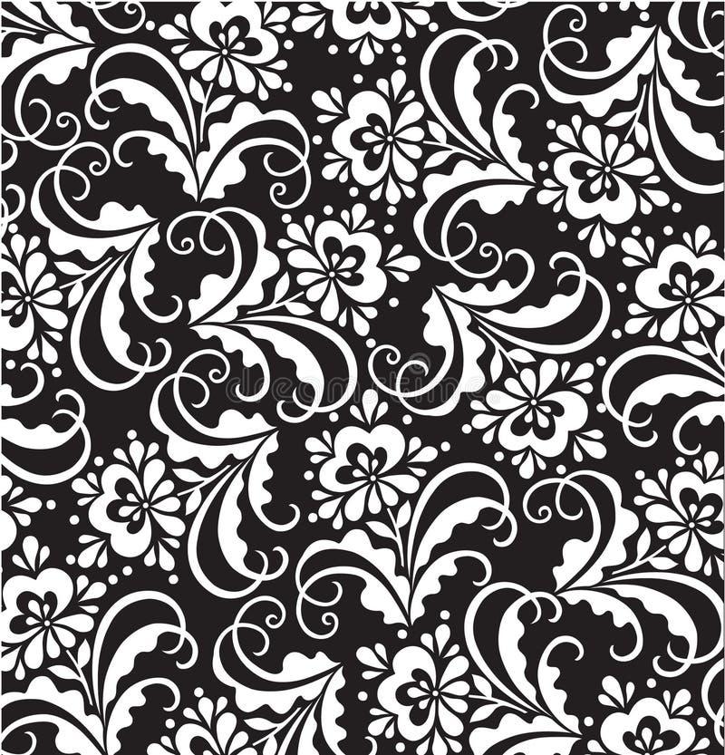 Testes padrões florais do vetor fotografia de stock royalty free
