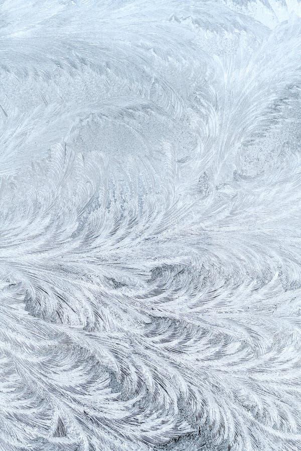 Testes padrões gelados fotografia de stock