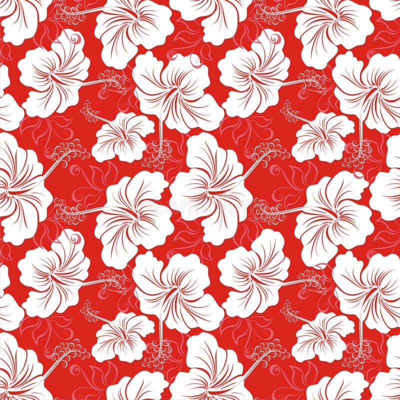 Testes padrões havaianos ilustração do vetor