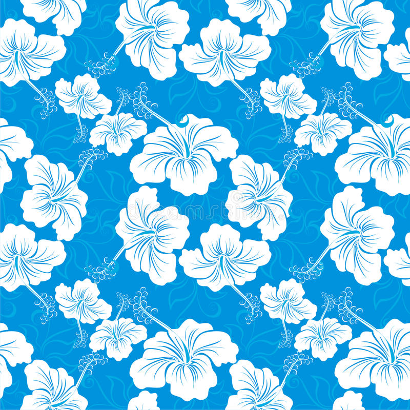 Testes padrões havaianos ilustração stock