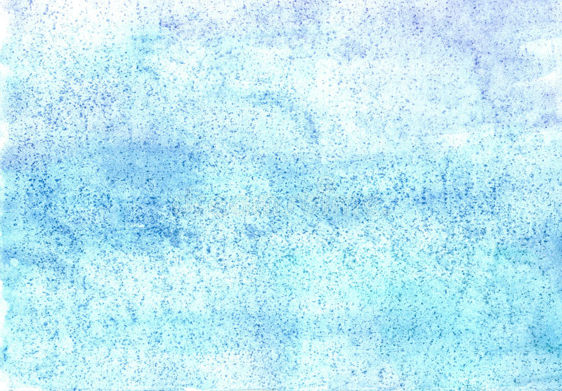 Testes padrões largos da água-cor em um papel úmido ilustração royalty free